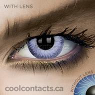 Dark Violet Contact Lenses