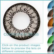 Dark Grey Contact Lenses