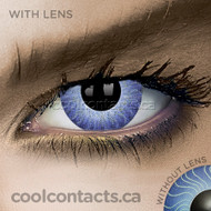Mystic Blue Contact Lenses (coolcontacts.ca)