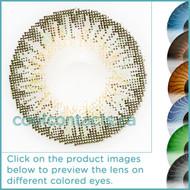 Hint of Green Contact Lenses