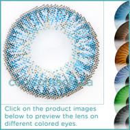 Exotic Blue Contact Lenses