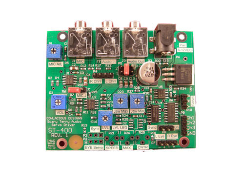Scary Terry Audio Servo Driver Board