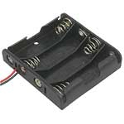4AA Battery Holder