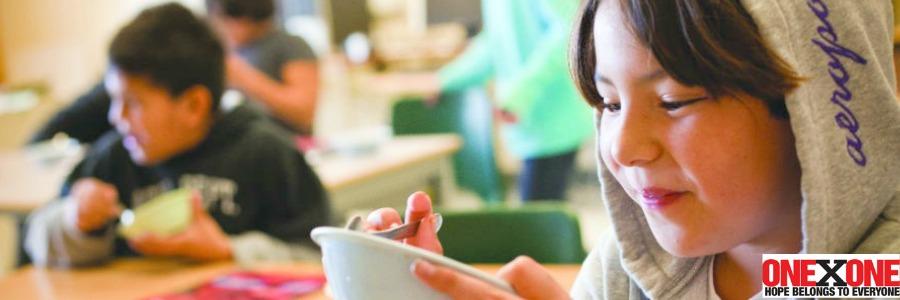 OneXOne First Nations School Breakfast Program