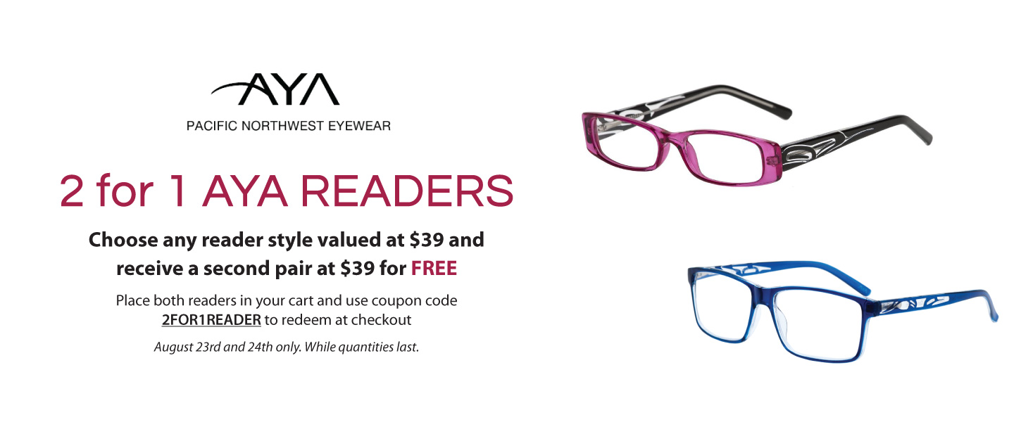 2 for 1 AYA Readers