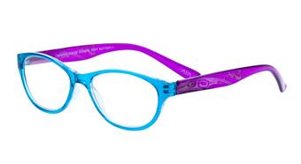 Turquoise Purple
