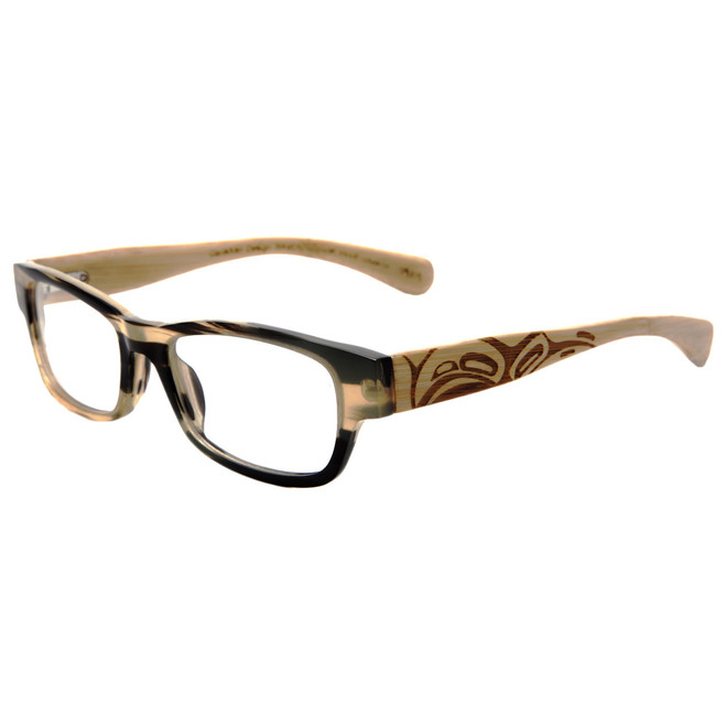 Light Buffalo Horn - example only. This frame is not available.