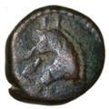 Vologases III Parthian AE