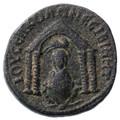 Nisibis, Mesopotamia, Philip I AE