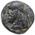 Mithradates II AE Tetrachalkous