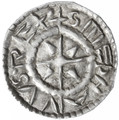 Stephan I - St. Stephen 1st King of Hungary AR Denar