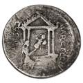 P. Cornelius Lentulus AR Denarius, Very RARE, Fine, 50 B.C.E.