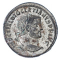 Diocletian Silvered Follis