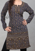 Alia Indian Tunic  - Long Woman Top