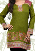 Spring Green Indian Tunic
