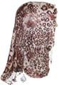 hijab scarf, head wrap, leopard scarf