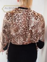 leopard hijab