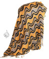 Retro Fashion Scarf or Hijab  [FSH-6632-Yellow]