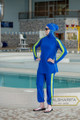 islamic swimsuit for athletic women - active wear