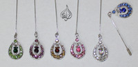 Beautiful Hijab dangling Pins