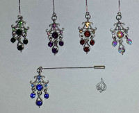 Beautiful Hijab dangling Pins - Islamic