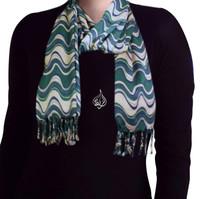 Retro scarf, muslim hijab Neck scarves