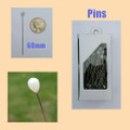 Dressmaking pins, Long Hijab pins, pearl head pin