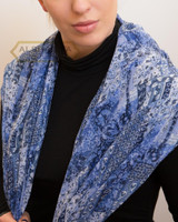 Latest Fashion Scarf French Blue