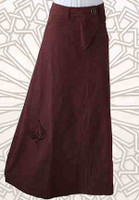 A-Line Skirt Brown