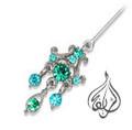 CZ Hijab Pin [APN-008]