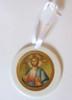 Pick-Your-Saint Ceramic Ornament- Round