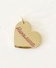 PERSONALIZED Engravable Heart-Shaped Pendant - IN ANY LANGUAGE