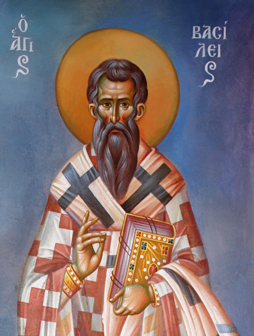 St. Basil the Great Icon- Icon III