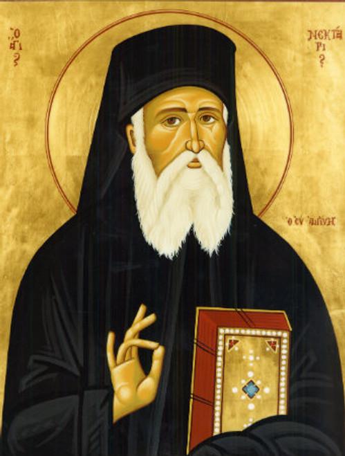 St. Nektarios Icon- Icon III