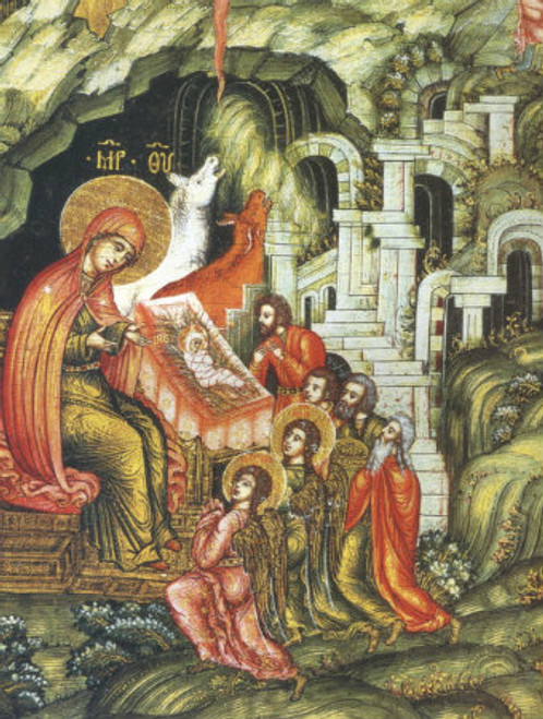 Nativity of Christ Icon- Icon II
