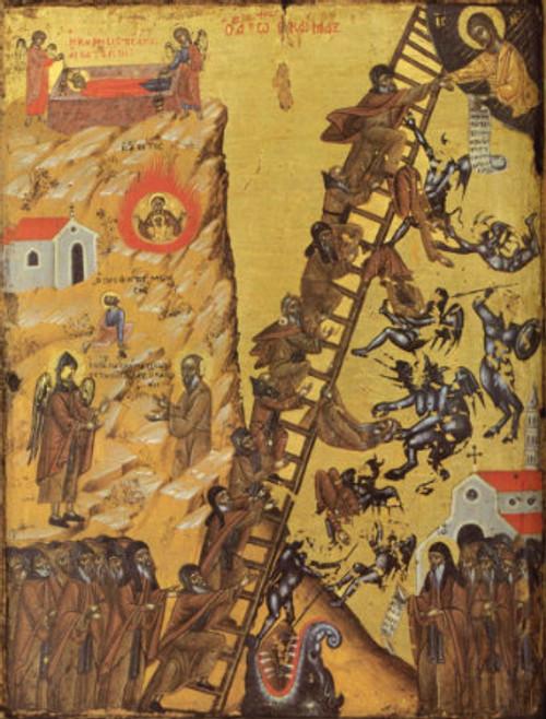 Ladder of Divine Ascent Icon- Icon II
