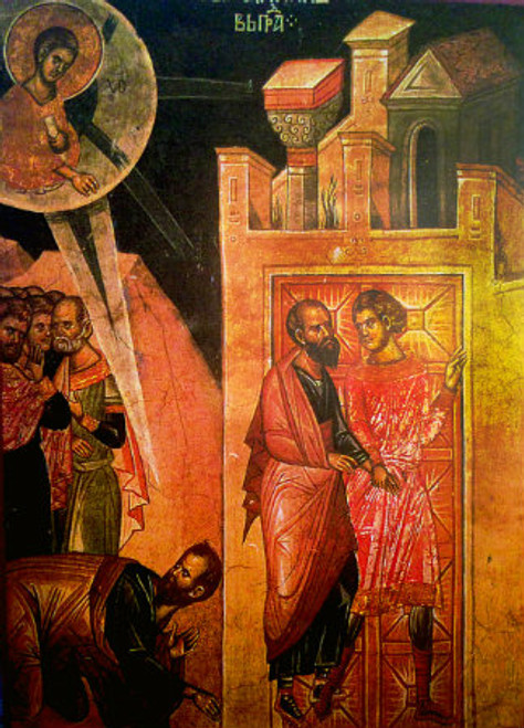 The Conversion of St. Paul Icon
