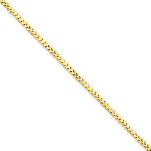 14KYG 1.5mm Franco Necklace- Various Lengths