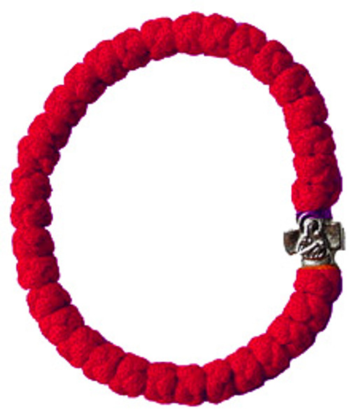 33 Knot Prayer Rope Ostrog Style (Red) Extra Large