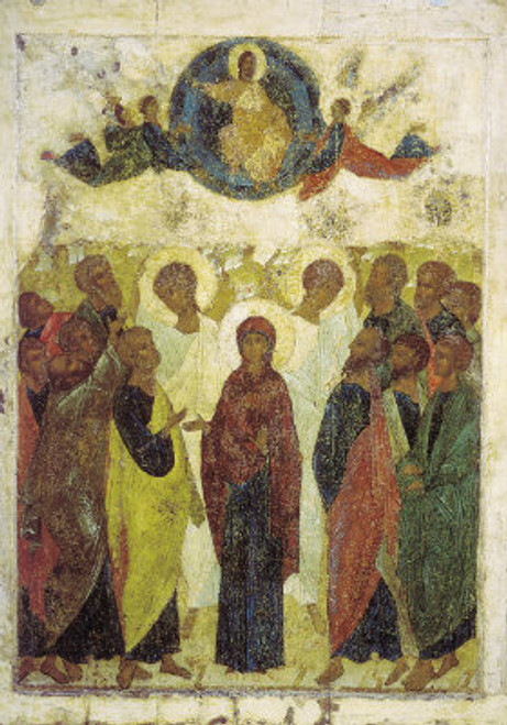 Ascension of Christ Icon (Rublev)