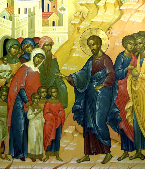 Christ Blessing the Children Icon- Icon II