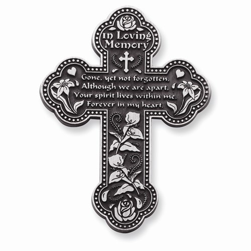 """In Loving Memory"" Wall Cross"