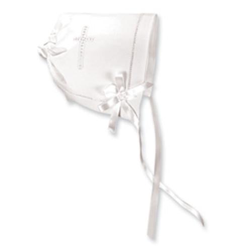 White Cross Bonnet