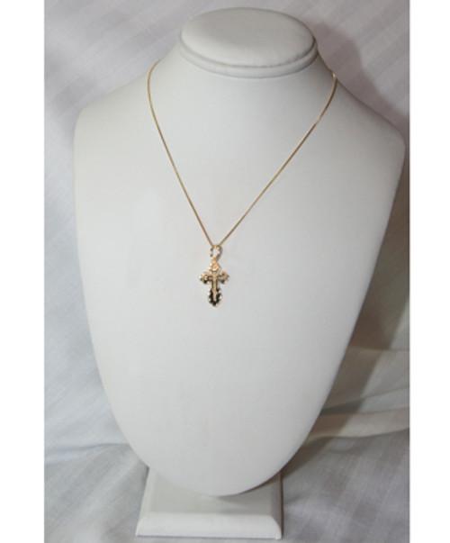 10KYG St. Olga Style Cross- Small