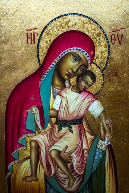 Theotokos and Christ-Child Icon: Icon V