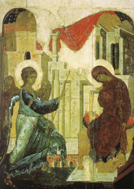 Annunciation Icon (Rublev)