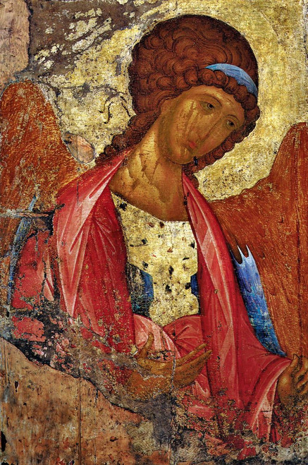 Archangel Michael Icon (Rublev)