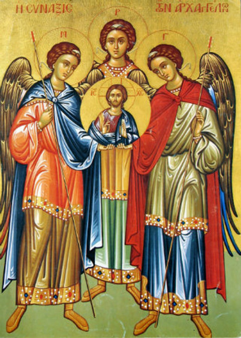 Synaxis of the Archangels Icon- Icon II