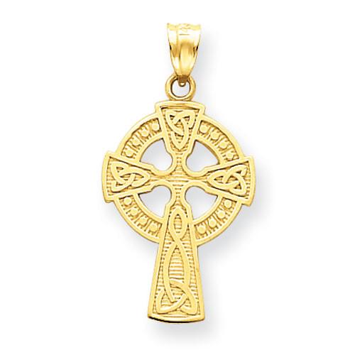 14KYG Celtic Cross Pendant