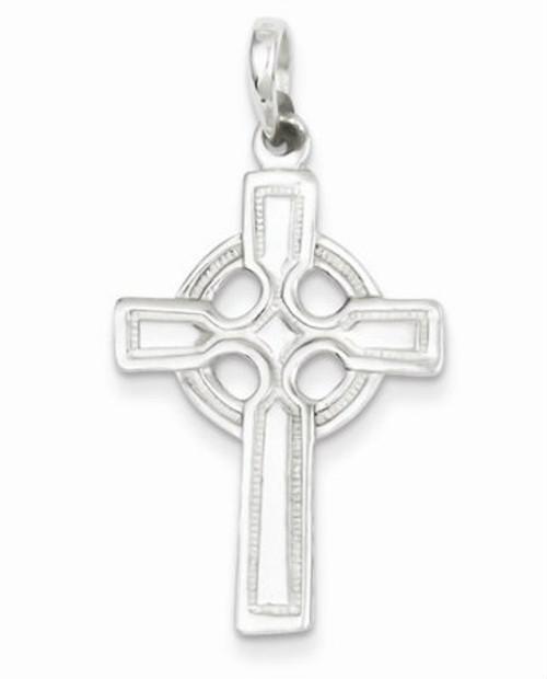 Sterling Silver Celtic Cross Pendant